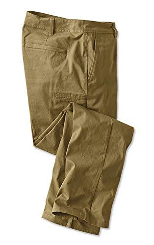 Orvis Men's Ripstop Travel Cargo Pants Field Khaki, 38, Inseam: 30 Inch by Orvis