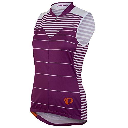 Pearl Izumi 2016 Women's Select LTD Sleeveless Cycling Jersey - 0790 (Moto Purple Wine - L) (Select Sleeveless Jersey)