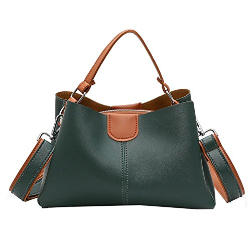 Price comparison product image Women Bags, Todaies Woman Tote Casual Bags Crossbody Bag Printing Leather Handbag Shoulder Bag 2018 (29cm(L)10cm(W)18cm(H),  Green)