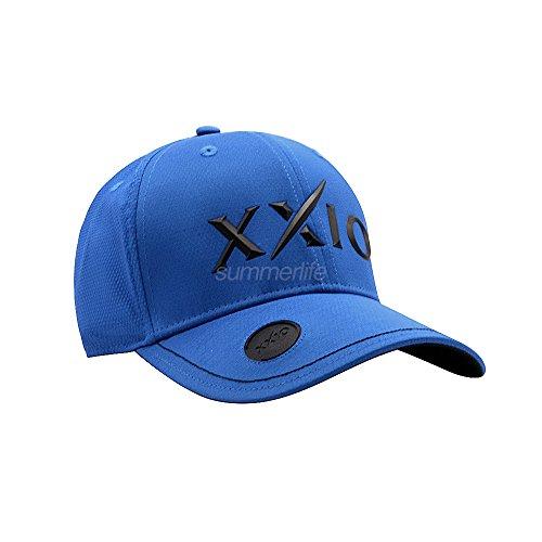 XXIO Dunlop Tpu Ballmarkerキャップgah-17039iゴルフ帽子調節可能なブルー色58 cm