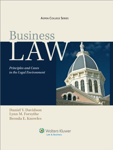 Business Law: Principles & Cases in the Legal Environment 9e (Aspen College Series)