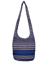 Hippie Classics Colorful Bohemian Shoulder Hobo Boho Cross Body Bag