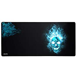 JIALONG Gaming Mouse Pad Large XXL (900x400x3mm) Thick Extended Mousepad Desk Mat with Smooth Cloth Surface, Improved…