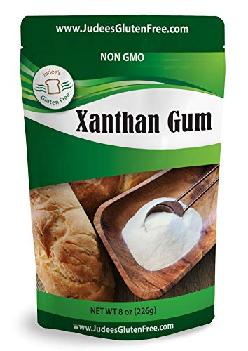 Judee's Xanthan Gum Gluten Free(8 oz) - USA Packed & Filled - Dedicated Gluten & Nut Free Facility - Perfect for Low Carb Keto Cooking. Non-GMO