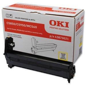 Oki C5850/5950 Yellow Ep Cart