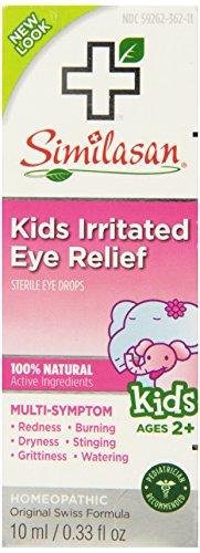 Similasan enfants Irrité Relief Eye Drops, 0,33 once