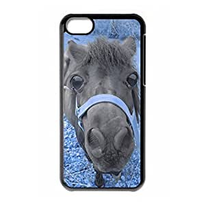 Mysterious War Horse logo for iPhone 5C hard back case