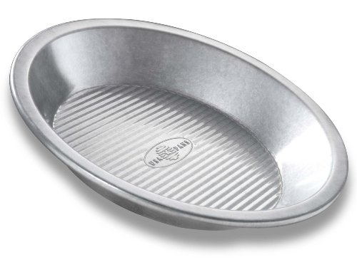 USA Pan Bakeware Aluminized Steel Pie Pan, 9-Inch by USA Pan