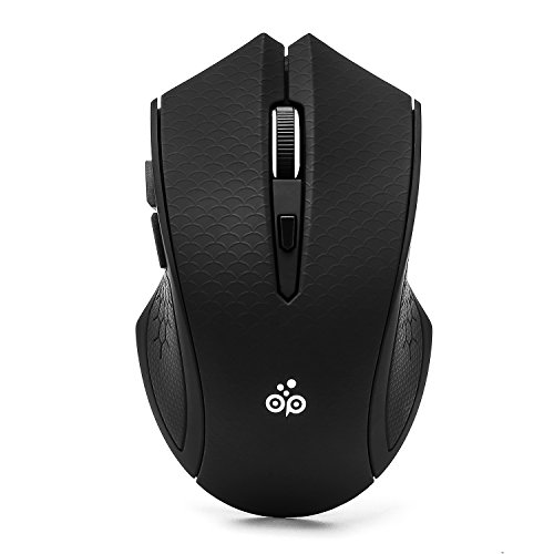 Scroll Wheel Control (Noiseless and Silent Click Wireless Mice, Offiplus Optical Mouse 3 Adjustable DPI Levels with USB Receiver)