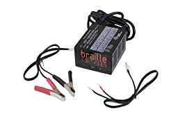 Braille Battery 1232 AGM 2 Amp/Hour Charging Solution