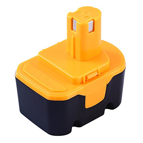 Munikind 14.4V 3.0Ah Replacement Battery for Ryobi 130224...