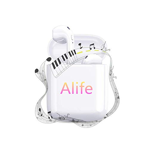 Bluetooth Headphones, ALife Best Wireless Earbuds Sport, Richer Bass HiFi Stereo in-Ear Earphones w/Mic, Case, 7-8 Hrs Playback Noise Cancelling Headsets (Comfy & Fast Pairing)