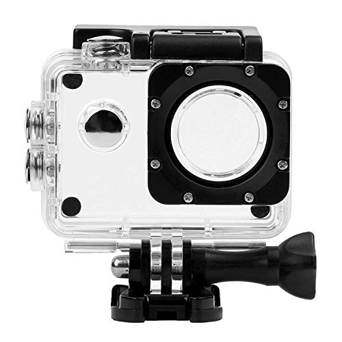 SHOOT 30m Waterproof Underwater Housing Case Frame +Floating Bar for AKASO EK7000 EK5000 SJ4000 SJ4000 WiFi SJ4000 Plus SJ7000 DBPOWER EX5000 FITFORT Lightdow Campark WIMIUS Action Camera Accessories