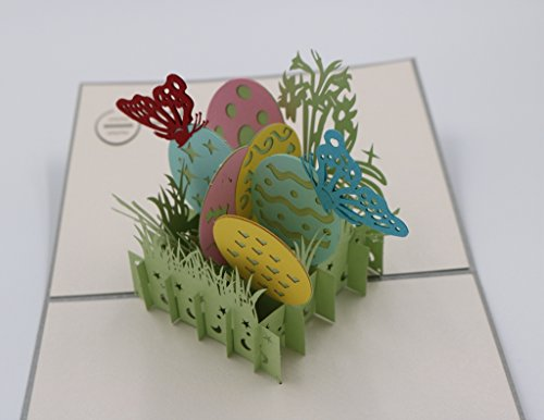 Handmade 3D Pop Up Happy Easter Greeting Cards (Easter Egg) Photo #7