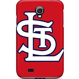 New Tpu Hard Case Premium Galaxy S4 Skin Case Cover(st. Louis Cardinals)