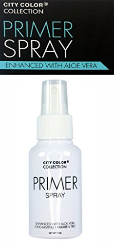 City Color Face Primer Spray Enhanced with Aloe Vera Long-lasting 75ml NEW (Spray Face Foundation compare prices)