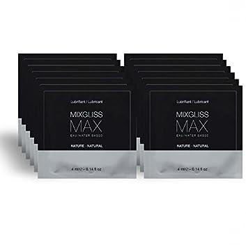 MIXGLISS MAX LUBRICANTE DILATADOR ANAL PACK 12 MONODOSIS 4ML: Amazon.es: Electrónica