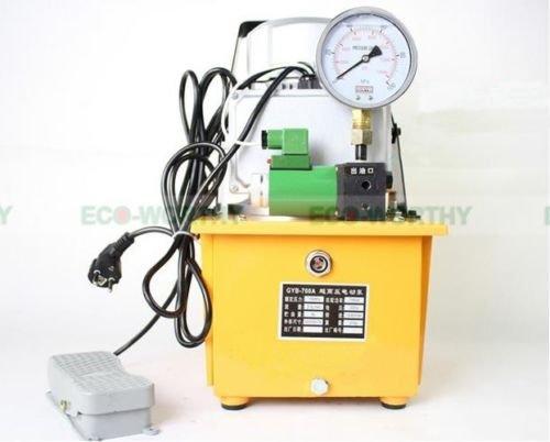 DC-HOUSE 電動油圧ポンプ単動リモートコントロールバルブ10000 PSI