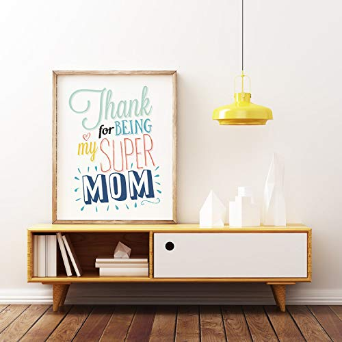 Home Print Quote Print Printable Art Gift for Mom Wife Gift Typographic Print Room Decor -