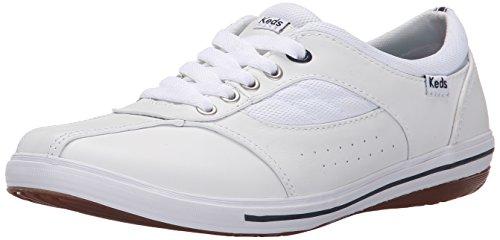 Pelle Bianca Keds Donne Prestigio Della Moda Sneaker
