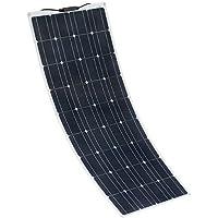 XINPUGUANG Panel Solar Flexible 100W 18V monocristalino fotovoltaico PV Solar Panel Module Compatibilidad con 18V y…