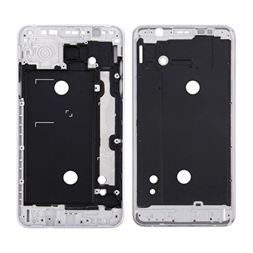 Replacement Parts New for Samsung Galaxy J7 (2016) / J710 Front Housing LCD Frame Bezel Plate Repair Broken Cellphone. (Color : Silver) ()