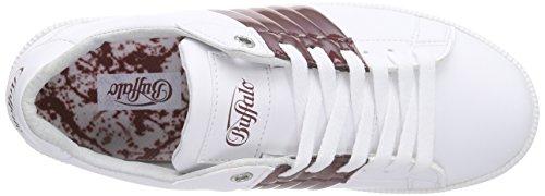 Ginnastica PU 100 Multicolore Buffalo Scarpe da Donna White464 Leather 17 Mehrfarbig AtgKqqwxYF