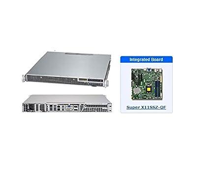Amazon com: Supermicro SYS-1019S-M2 1U Server with X11SSZ-QF