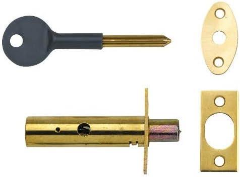 Yale Locks PM444PB Visi Pack - Cerrojo de Seguridad Oculto para Puertas (1 Unidad), Color latón [Importado de Reino Unido]: Amazon.es: Bricolaje y herramientas