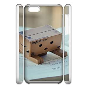 danbo reading book iphone 5c Cell Phone Case 3D 53Go-258797