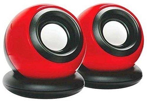 LANH Terabyte Clarion TB 008 Laptop Mini Speaker  Red