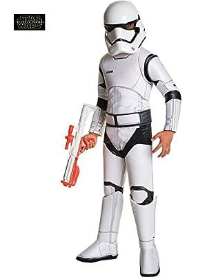 Rubie's Costume Star Wars Ep VII Deluxe Villain Trooper White Child Costume