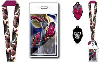 Lanyard - Marvel - Avengers 2 - Vision w/Soft Dangle Hang Tag New 68397 ()