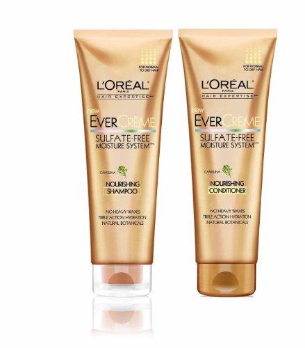 L'Oreal Hair Expertise EverCreme Nourishing Shampoo 8.50 oz
