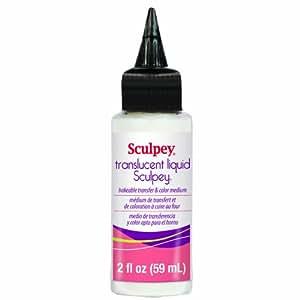 Polyform ALSB02 Sculpey Translucent Liquid, 2-Ounce