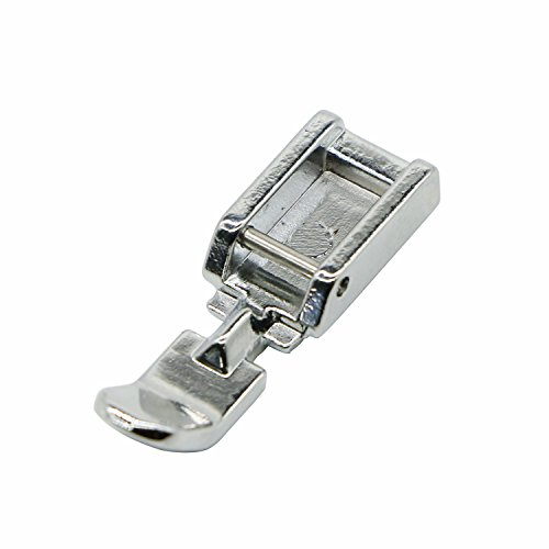 (Zipper Sewing Machine Presser Foot for Low Shank Snap on Singer Brother Babylock Janome Kenmore White Juki New Home Simplicity Elna Husqvarna Janome Bernina)