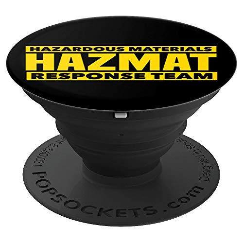 HAZMAT Hazardous Material Response Team Technician Tech - PopSockets Grip and Stand for Phones and Tablets