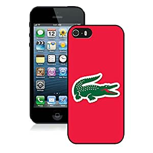 Fashionable And Beautiful Designed Case For iPhone 5S With Lacoste 4 Black Phone Case