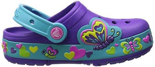 crocs Kids' Butterfly PS Light-Up Clog