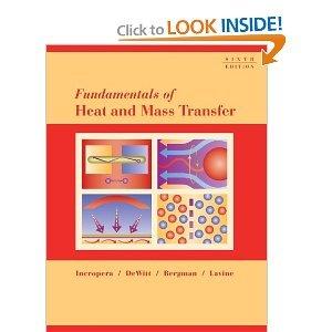 Fundamentals of Heat and Mass Transfer (6 Edition) pdf epub