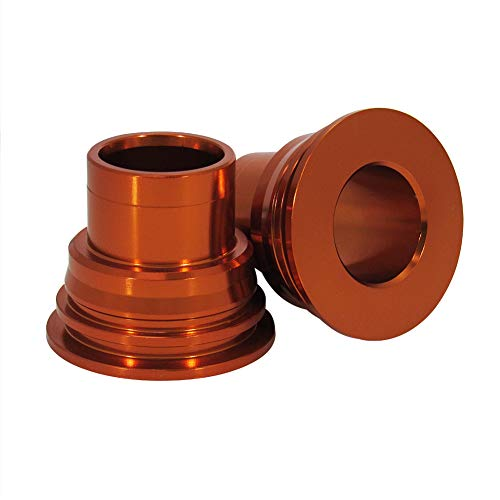 Outlaw Racing Rear Wheel Axle Spacers Anodized Orange Husaberg 390FE 2010-2011