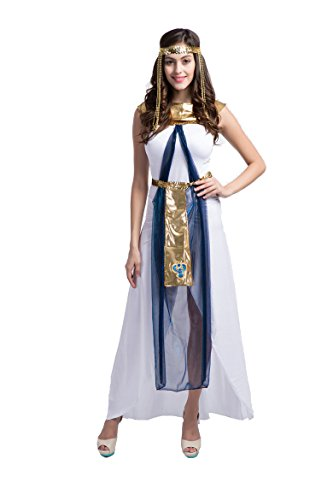 Honeystore Women's Adult Queen of the Nile Adult Egyptian Cleopatra (Arabian Nights Themed Dresses)