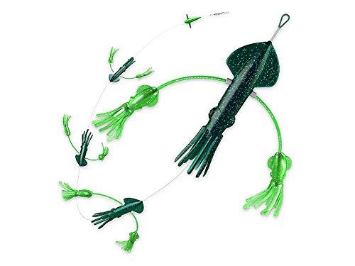 Squidnation Flippy-Floppy Daisy Chain - Super Dark Green by Squidnation