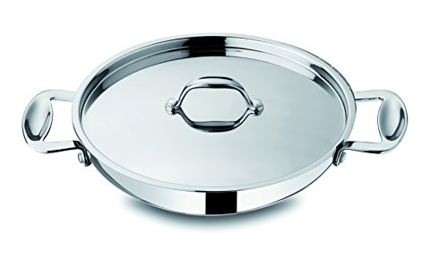 Mepra 30213132 Glamour Stone Tegame Cookware, 32cm, Stainless Steel