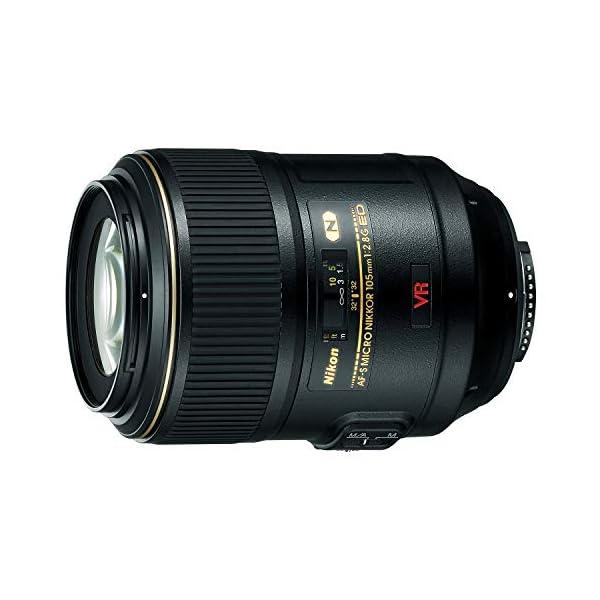 RetinaPix Nikon 105mm AF-S VR 105 f/2.8G IF-ED Micro Prime Lens for Nikon Digital SLR Camera (Black)