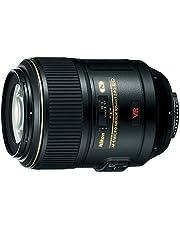 Nikon Nikkor AF-S Micro 105mm f/2.8D IF ED VR Lens, Black
