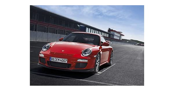 Porsche 911 RED rendimiento - auto - A3 poster - impresión - foto - arte: Amazon.es: Hogar