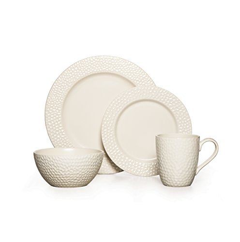 Gourmet Basics by Mikasa Hayes 16-Piece Dinnerware Set, Serv