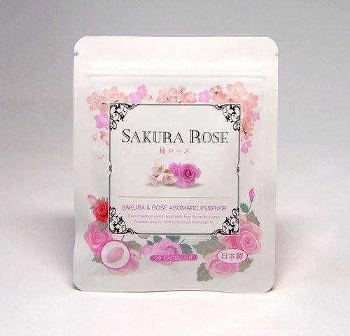 反毒泥と組む濃縮生サプリ 桜ローズ 30粒入り カプセルから香る濃厚成分 体臭、口臭ケアに