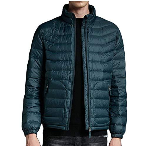 Lunghe Uomini Puffer Colletto Maniche Cappotti Piumini Coreana 5 Ttyllmao Inverno Packable Alla Ewqd7E4